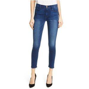 Frame Le Skinny de Jeanne Crop Jeans Dark 28